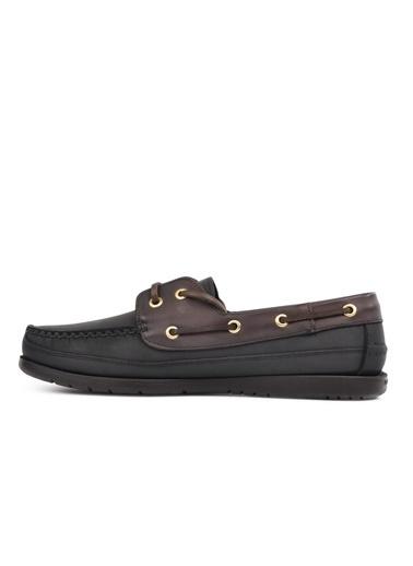 Ayakmod P-619 Siyah Nubuk Hakiki Deri Erkek Casual Ayakkabı Siyah